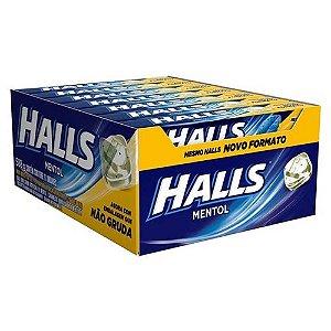 Drops Halls Mentol Mondelez 588g
