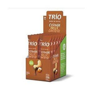 Trio Castanha Avelã e chocolate 240g