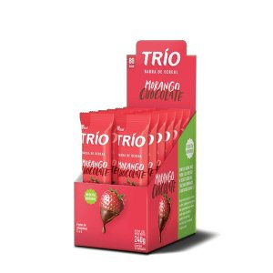 Trio Morango e chocolate 240g