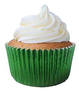 Forminha Cupcake Metal Verde Mago Nº0 c/50 unid