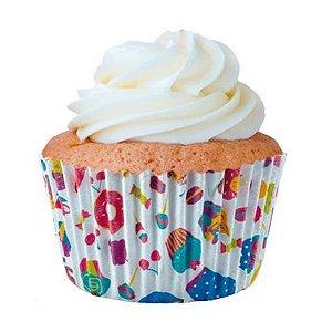 Forminha Cupcake Bolinhos Nº0 c/45 unid