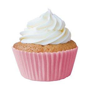 Forminha Mini Cupcake Rosa Bebê Nº2 c/45 unid