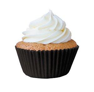 Forminha Mini Cupcake Preta Nº2 c/ 45 unid