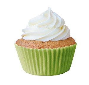 Forminha Mini Cupcake Verde Limão Nº2 c/45 unid