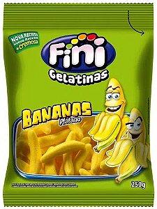 Balas de Gelatina Banana Fini 250g
