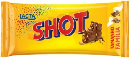 Chocolate Shot Lacta 90g