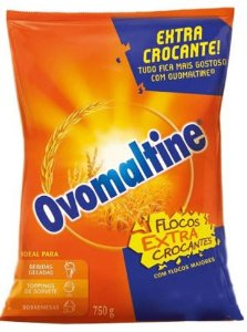 Ovomaltine Extra Crocante British Foods 750G
