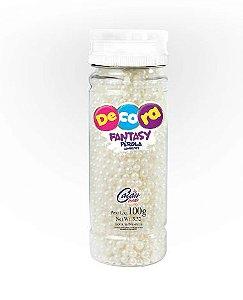 Confeito Perola Decora Fantasy Cacau Foods 100g