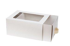 Caixa com Gaveta Branca Premium Decora c/ 1 Unid