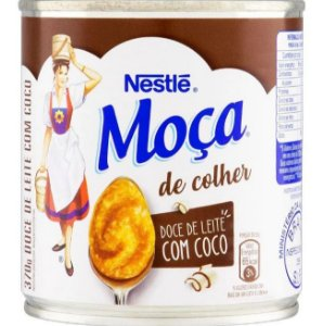 Doce de Leite com Coco Nestlé Moça  370g