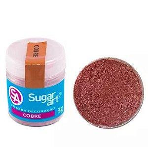 Pó para Decoração Cobre Sugar Art 3g