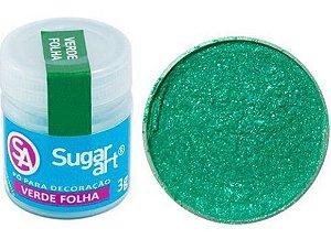 Pó para Decoração Glitter Verde Sugar Art 3g