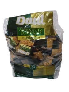 Amendoim Torrado Salgado Daal c/ 50 un
