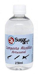 Alcool de Cereal Sugar Art 270ml
