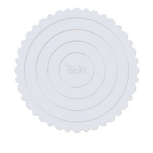 Cake Board Branco Patchii 25,5cm x 25,5cm