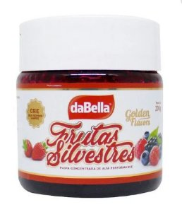 Pasta Golden Flavors Frutas Silvestres DaBella 200g