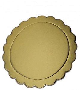 Base Laminada Dourada Prime Chef 10CM