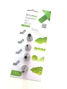 KIT BRICOFLEX BICOS INOX 4pcs