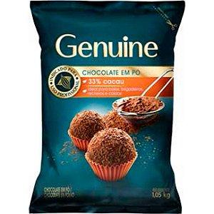 CHOCOLATE EM PÓ 33% GENUINE 1,05KG