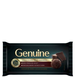 CHOCOLATE MEIO AMARGO GENUINE 1KG