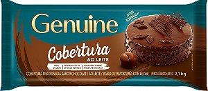 COBERTURA AO LEITE GENUINE 2,1KG