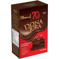 Chocolate em pó 70% Dona Jura 200g