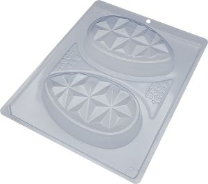Forma Silicone Ovo Tablete 3D BWB 10062