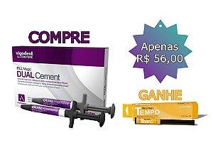 CIMENTO RESINOSO COMPRE 1 DUAL CEMENT - GANHE 1 FILL MAGIC TEMPO 3G - COLTENE