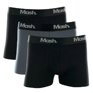 Kit 3 Cuecas Boxer Cotton Mash