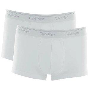 Kit 2 Cuecas Low Rise Trunk Cotton Calvin Klein