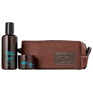 Kit Shampoo e Balm Fresh + Necessaire GO