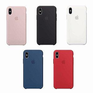 Capa de Silicone iPhone X e Xs Max