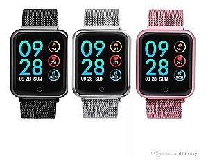 Relógio Inteligente Smartband P70 Pro Bluetooth + Pulseira