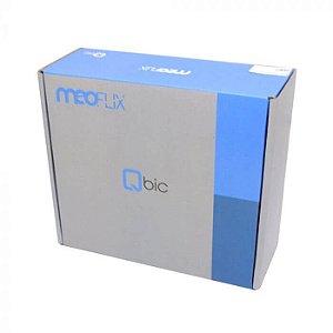 Receptor MEOFLIX QBIC IPTV - Android 7.0+4K+Filmes online+ atualizacao automatica