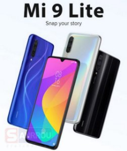 Celular Smartphone Mi 9 Lite Dual 64Gb 6GB Global Black