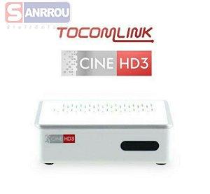 Receptor Tocomlink Cine HD 3 H265 iks sks Ondemand IPTV Wifi