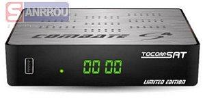 Receptor Tocomsat Combate S4 - IKS / SKS / IPTV - Lançamento 2019