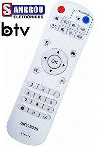 Controle Remoto Para Receptor Btv B9