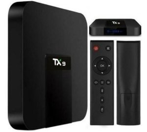 TvBox Tx9 com Bluetooth Android 7.1.2 Quadcore 2gb/16gb