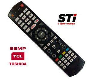 Controle TV Toshiba smart com netflix Sky 8024