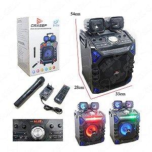 Caixa de Som com Bluetooth Grasep D-D06  150 W