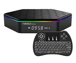 Tvbox T95Z Plus Android 9.1 4GB RAM 64GB ROM + controle bluetooth