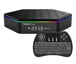 DUPLICADO - Tvbox T95Z Plus Android 9.1 Dual WiFi 4K Caixa de TV inteligente Media Player com 4GB RAM 64GB ROM