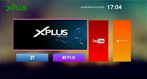 Receptor Iptv X-Plus youtube netflix filmes é series+ canais