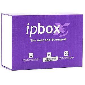 Receptor Ipbox X3 Full Hd 4k Wi-Fi/Lançamento