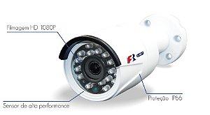 Câmera Bullet IR 4 em 1 IR 25m FS-MBF2 2Mega Lente HD 3.6mm IP66 Focusbras