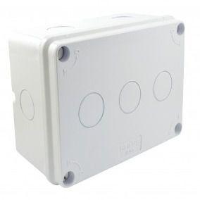 Caixa Organizadora Media Stilus Branca IP65  15,5 x11x7,5