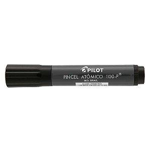 Caneta pincel atomico preta Pilot 1100