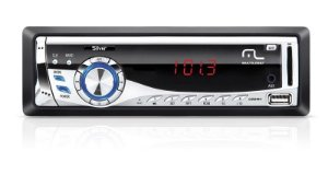 Radio automotivo Silver 4x45w Multilaser P3167