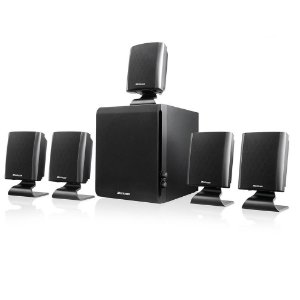 Home Theater 5.1 060W RMS preto Bivolt Multilaser SP088